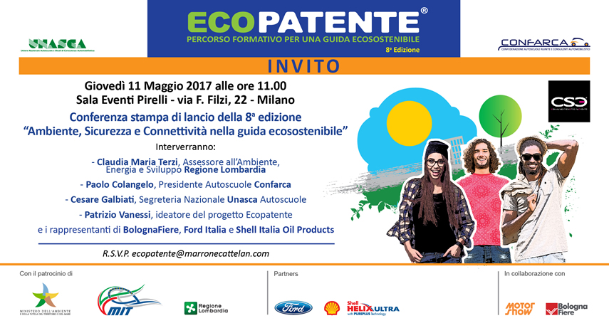 Ecopatente 8^ Ed. al via!